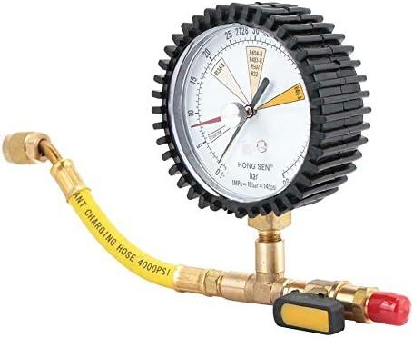 Hillrong - Regulador de manómetro de nitrógeno para aire ...