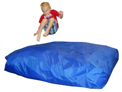 Sensory Stimulation Crash Pad and Mat Large Size 5′ x 5′ PLUS Extra Removable Machine Washable Cover (A $45.00 VALUE), Outdoor Stuffs