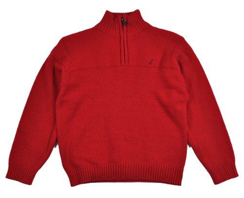 Nautica Boys 2-7 Classic Quarter-Zip Sweater