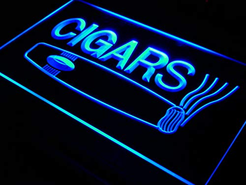 ADVPRO Cartel Luminoso i073-b Open Cigars Cigarette Bar Lure ...