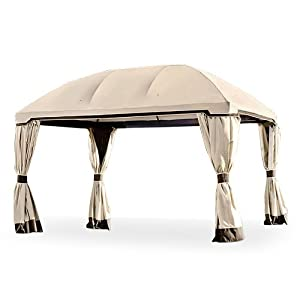 Garden Winds Replacement Canopy for The Pomeroy Dome Gazebo – Standard 350 – Beige