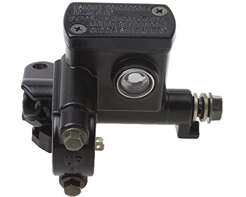 Upper Brake (MxMOTOPARTS Left Upper Disc Brake Master Cylinder Brake Pump for Four Wheeler)
