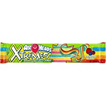 Air Heads Extreme Sweetly Sour Belts Rainbow Berry