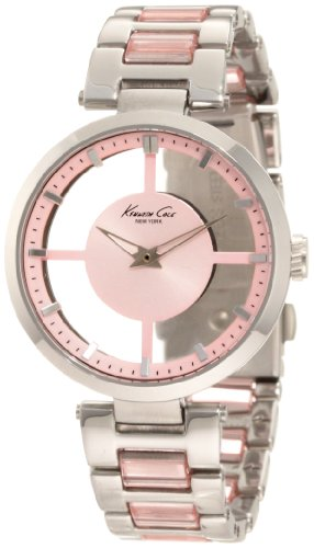 Kenneth Cole New York Women's KC4814 Transparency Pink Dial Transparency Pink Link Watch