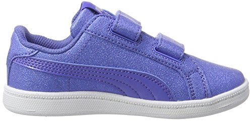 Enfant Puma Basses Glitzsl baja Smash Mixte Bleu Blue Sneakers V baja Blue Ps H4prHq