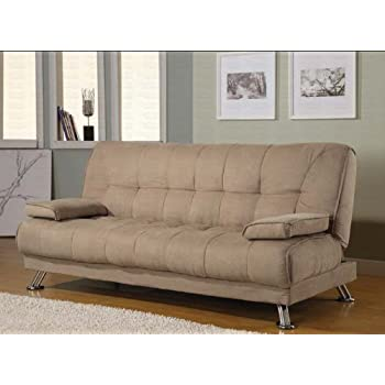 Coaster Home Furnishings Casual Sofa Bed, Tan