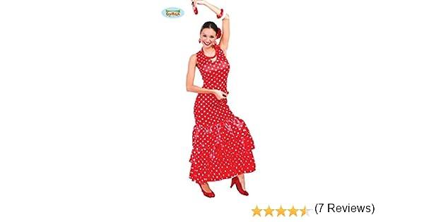 Guirca 84728 - Flamenca Adulta Talla L 42-44: Amazon.es: Juguetes ...