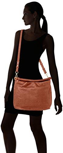 Marc O'Polo Eight - Shoppers y bolsos de hombro Mujer Marrón (Ambra)