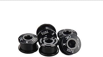5PCS Bicycle Chainwheel Screws CNC 7075 Chainring Wheel Bolt Bike Disc ScreNWUS