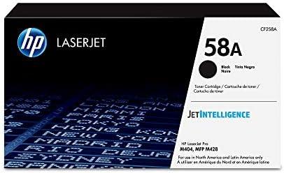 HP 58A | CF258A | Toner Cartridge | Works with HP Laserjet Pro M404 Series, M428 Series | Black