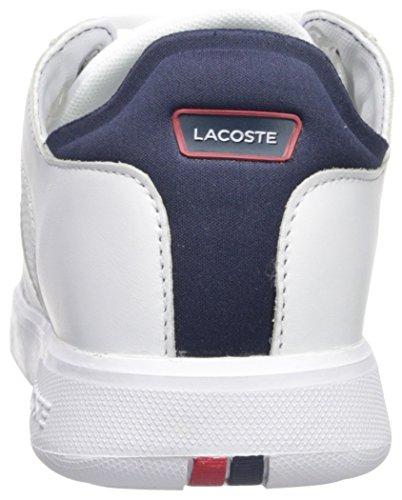 Lacoste Heren Novas Sneaker Wit Navy