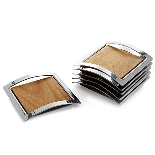 Nambe Mikko Coasters (Set of 6) by Nambè