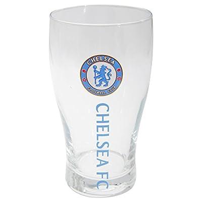 Chelsea FC Official Football Crest Pint Glass