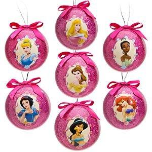 Amazon.com: Disney Princess Decoupage Ornament Set -- 7-Pc.: Home ...