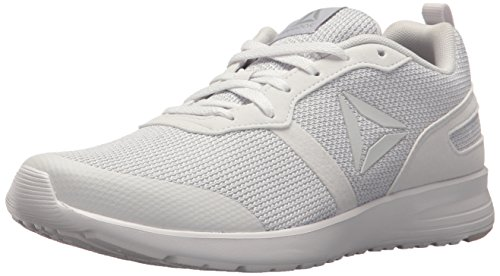 Reebok Women's Foster Flyer Track Shoe,Porcelain/Steel,9.5 M US