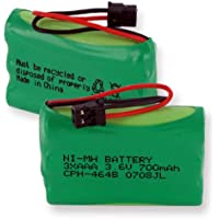 Empire CPH-464B 3.6V 1 x 3 in. 3 AAA Nickel Metal Hydride Battery 700 mAh & B Connector - 2.52 watt