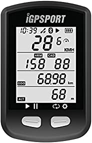 GPS Bike Computer iGPSPORT iGS10 Wireless Cycling Computer Compatible with Heart Rate Speed Cadence Sensor (No