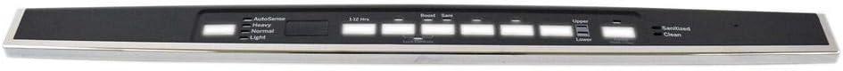 GE WD34X21699 Dishwasher Control Panel Genuine Original Equipment Manufacturer (OEM) Part
