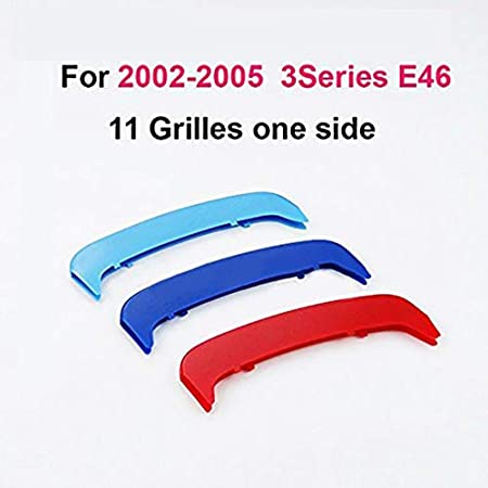-Kidney Grills Insert accessories-M-Color Front Grille Stripe Decals For 4 Series F33//F32 2014-2018 9 Grilles