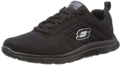 Skechers Sport Women's Sweet Spot Fashion Sneaker,Black,6 M US