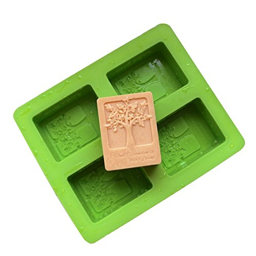 Soap Mould (Mandydov Craft Art DIY Handmade Silicone Happiness Tree Mould Soap Mold (4)