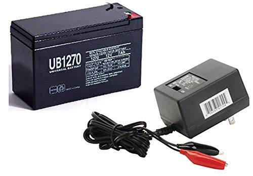 Universal Power Group 12V 7AH Battery Replaces UB1280 UB1270 Mantis Electric Scooter WITH CHARGER