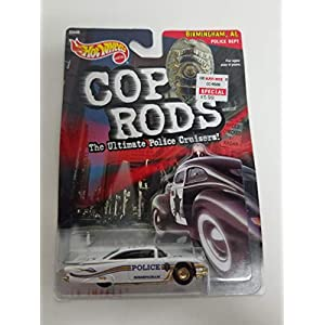 '59 Impala 1999 Hot Wheels Cop Rods Birmingham, AL Police Department PD