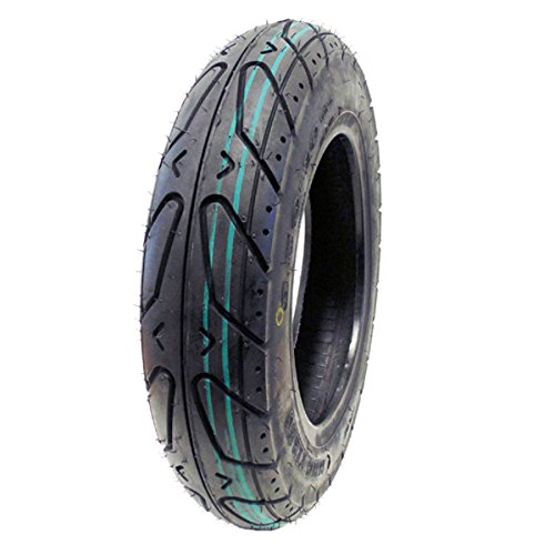 (Scooter Tubeless Tire 3.50-10 Front Rear Motorcycle Moped Rim 10