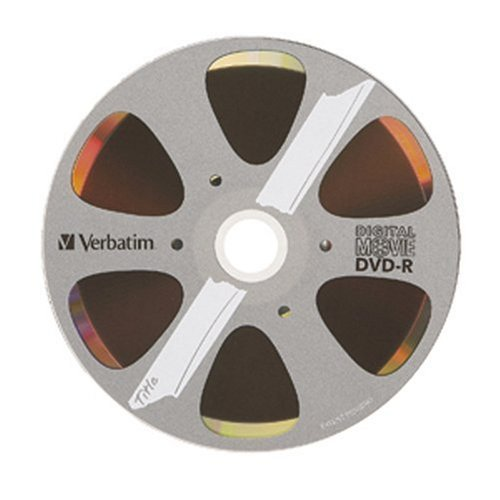 Verbatim DVD-R 4.7GB 8X - DigitalMovie Surface - 25pk Spindle