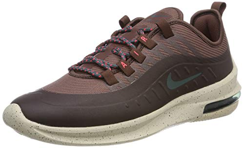 Nike Men's Air Max Axis Premium Running Shoe, Mahogany Mink/Faded Spruce-Burgundy Ash, 9.5