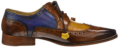 Blue Ls Homme 29 Oskar black Yellow Crust Multicolore Hamilton amp; Melvin Washing Tan Derbys 4qTHPHw