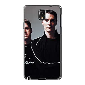 ErleneRobinson Samsung Galaxy Note3 Excellent Cell-phone Hard Covers Customized Trendy Breaking Benjamin Band Pattern [kLf17258gYje]