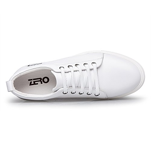 Shoe Men's Sneakers White Casual Fashion Lace Breathable Up ZRO FvOxdtqq