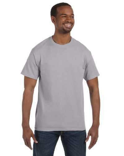 Hanes TAGLESS T-Shirt, XX-Large, Oxford Gray ()