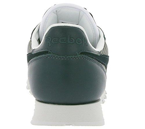 CL Kevlar Scarpe Classic Uomini Reebok CL Classic Blu Leather Kevlar Uomini Leather AR2449 Reebok FqYx1