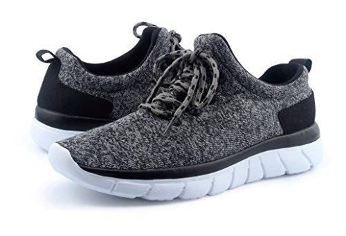 Santiro Dames Lichtgewicht Sport Mode Sneakers Schoenen Grijs