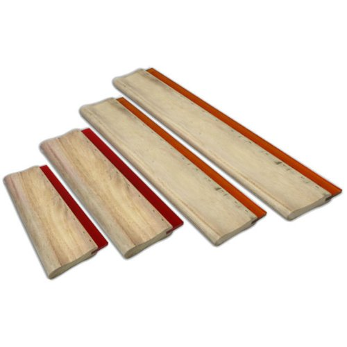 4 pcs Silk Screen Printing Squeegee Ink Scraper Kick Plate Scratch Board Blade by Screen Printing Consumables
