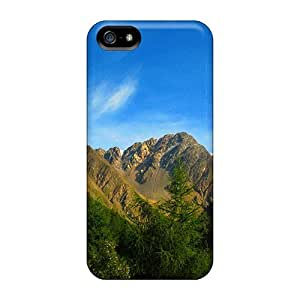 ConnieJCole Fashion Protective Beautiful Sky Mountains Case Cover For Iphone 5/5s