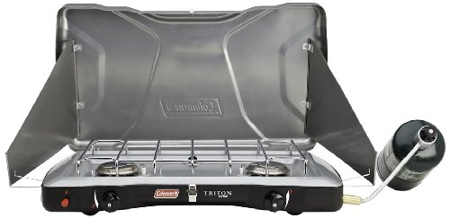 Coleman Triton Series InstaStart 2-Burner Stove (Coleman Camping Cook Stove compare prices)