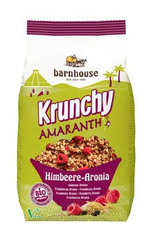 Bar House bio krunchy Amaranto de frambuesa Aronia (1 x 375 gr)