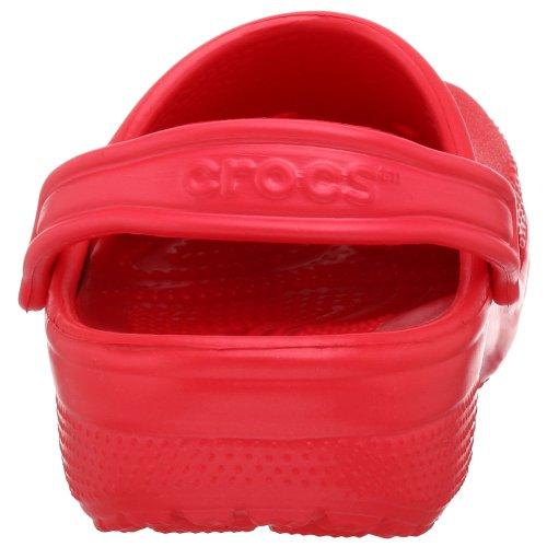 Crocs Beach - Romana Unisex adulto Rojo