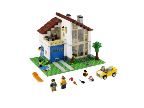 LEGO Creator Family House (31012) (Discontinued by manufacturer) (Mediterranean Set Table)