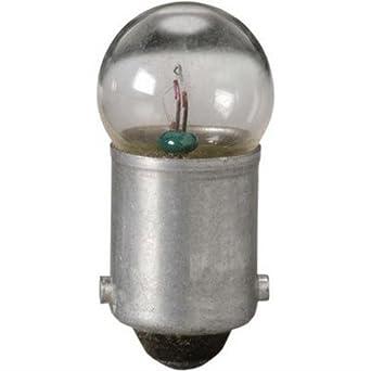Pack of 10 Eiko 51-10 51 7.5V .22A G3-1//2 Miniature Bayonet Base Light Bulb