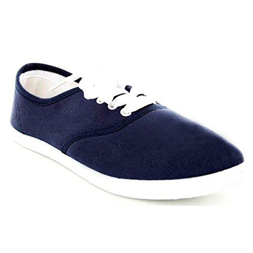 Dames Klassieke Schoenen Sneaker Tennisschoenen Soho Marine Canvas 5E7gnfBwq6