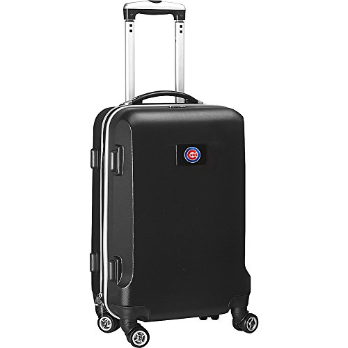 MLB Chicago Cubs Carry-On Hardcase Spinner, Black by Denco