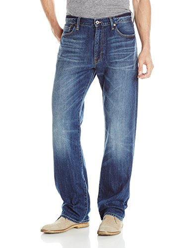 Lucky Brand Men's 181 Relaxed Straight Jean, Lakewood, 40x34