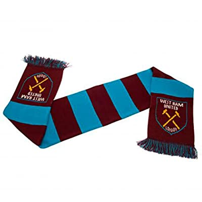 West Ham United Crest Bar Scarf