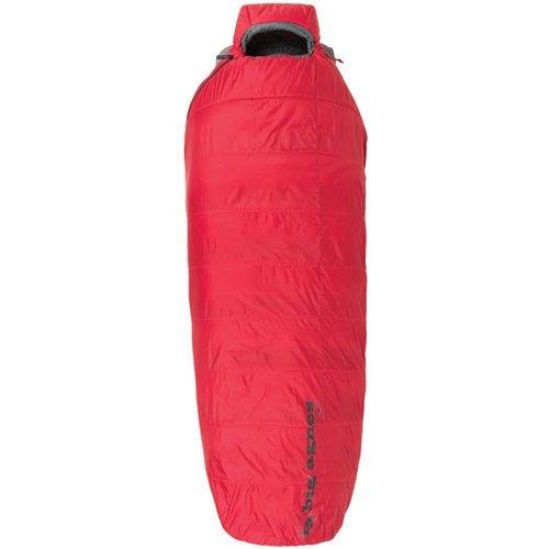 Nylon Sleeping Bag Big Agnes (Big Agnes Gunn Creek 30 Sleeping Bag - Red Regular Right)