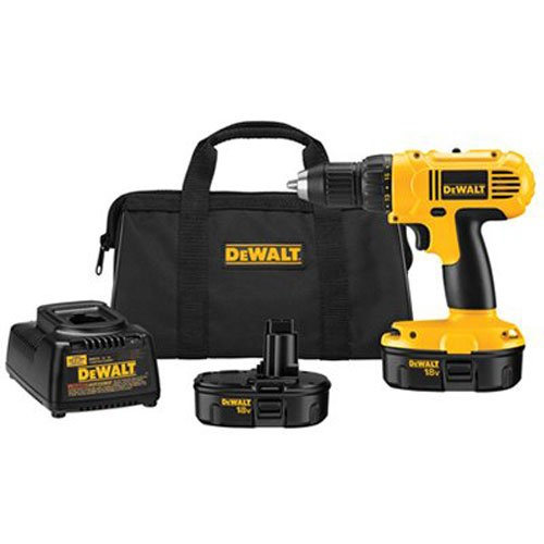 DEWALT DC970K-2 18-Volt Compact Drill/Driver Kit (Dewalt Power Tool Sets)