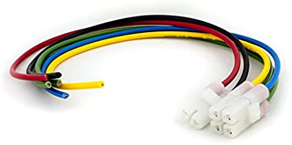 Gy6 6 Pin Cdi Wiring Harness Connector 6 Wire Loom Motorcycle Scooter Dirt Bike Auto